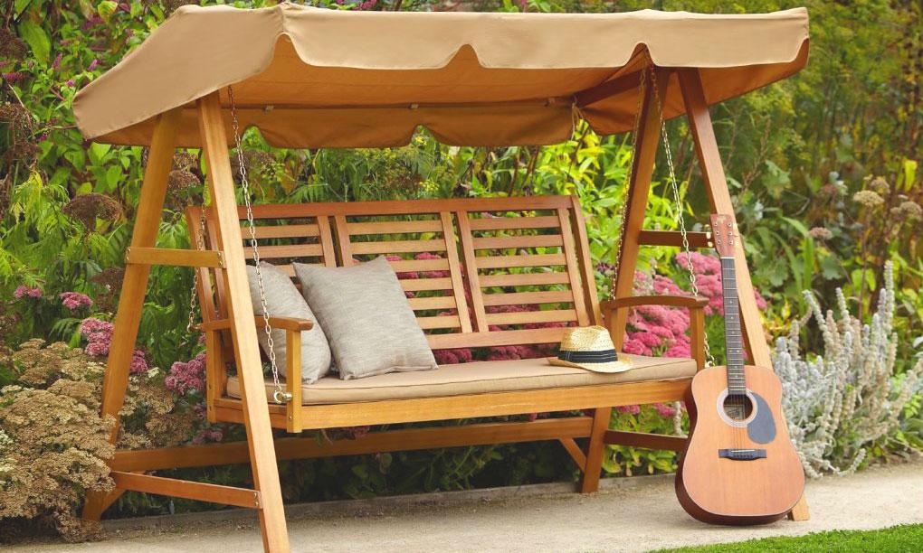 hammock i trädgården